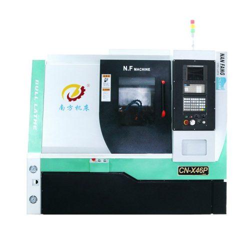 420មមមមលើគ្រែម៉ាស៊ីន CNC CNC –285ប្រវែងម៉ាស៊ីនមម