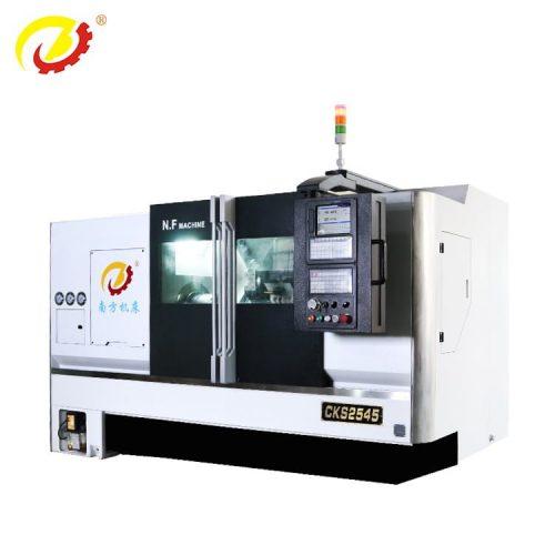 450mamilimita kugwedezeka pa bedi CNC lathe –450mamilimita Machining kutalika