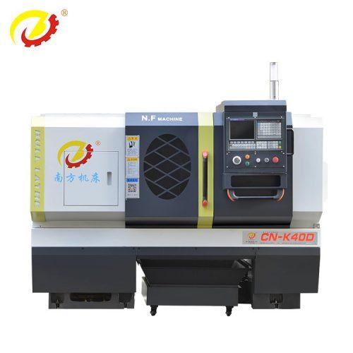 400mm adductius super lecto CNC torno –750mm longum Machining