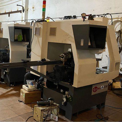 Screw driver making machine